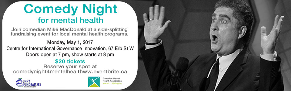 Comedy Night for Mental Health with Mike MacDonald