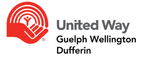 "United Way Logo, with text that reads ""United Way, Guelph Wellington Duffern""."