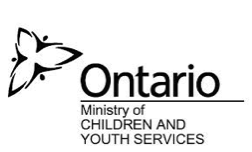 "CHMA Logo in the corner, text reads ""Ontario: Ministry of Children and Youth Services""."