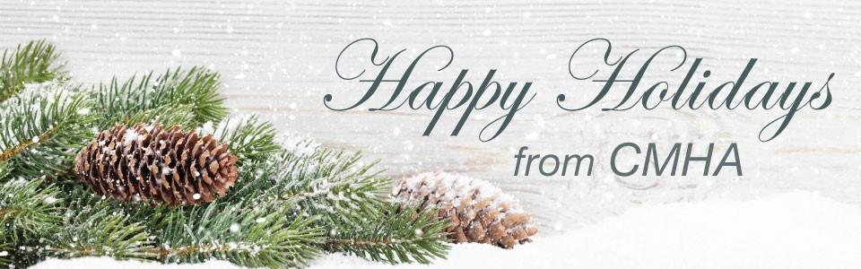 Happy Holidays from CMHA Waterloo Wellington