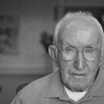 Seniors - Elderly Man with slight Dementia BW