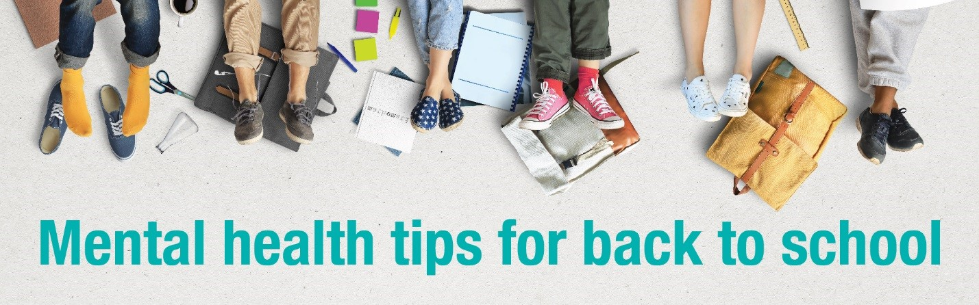 Back to school mental health tips