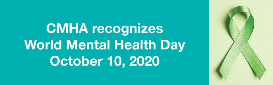 CMHA recognizes world mental health day with green ribbon