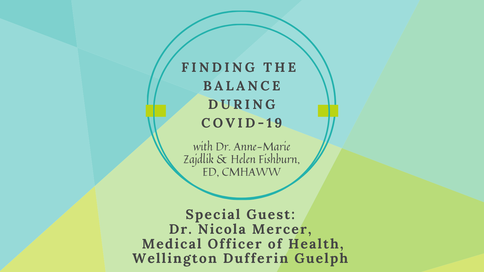 Finding the Balance during COVID-19 with Dr. Mercer